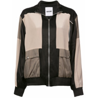 Koché Jaqueta Bomber Color Block - Estampado