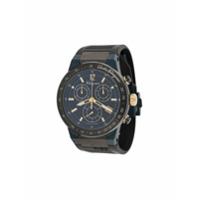 Salvatore Ferragamo Watches Relógio F-80 Chronograph 44mm - Preto