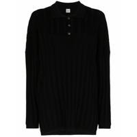 Totême Suéter Oversized Bonifacio - Preto