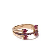 Delfina Delettrez Anel Em Ouro Rosé 18K - Rose Gold