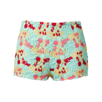 Giamba Short Bordado - Verde