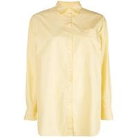 A Shirt Thing Camisa Com Bolso No Busto - Amarelo