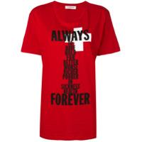 A.f.vandevorst Always Forever T-Shirt - Vermelho