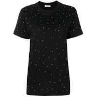 P.a.r.o.s.h. Camiseta Mangas Curtas Com Tachas - Preto
