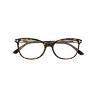 Tom Ford Eyewear Armação De Óculos Havana - Marrom
