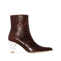 Kalda Ankle Boot 'island' 70 - Marrom