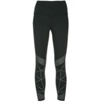 Nimble Activewear Legging Slim Perfurada - Preto