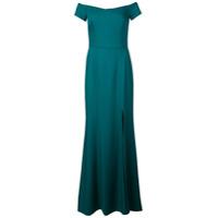 Amsale Vestido De Festa Ombro A Ombro - Verde