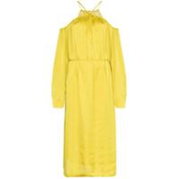 Low Classic Vestido Acinturado - Mustard