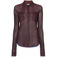 Wales Bonner Camisa Mangas Longas Com Padronagem Geométrica - Magic Multi