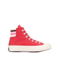 Converse Tênis Cano Alto - Vermelho