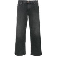 Simon Miller Calça Jeans Pantalona Cropped - Cinza