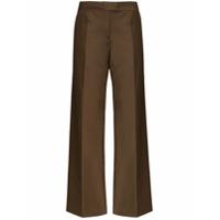 Materiel Calça Pantalona Cintura Alta - Marrom