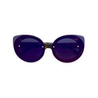 Retrosuperfuture Óculos De Sol 'infrared' - Marrom