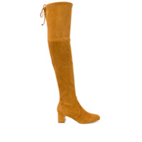 Stuart Weitzman Kirstie 90 Over-The-Knee Boots - Marron