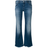 Emporio Armani Calça Jeans Flare - Azul