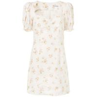 Reformation Vestido Com Estampa Floral Gina - Branco