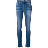 Jacob Cohen Calça Jeans Skinny Com Efeito Desbotado - Azul