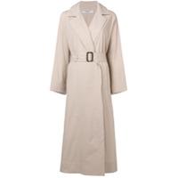 Katharine Hamnett London Trench Coat Com Cinto - Neutro