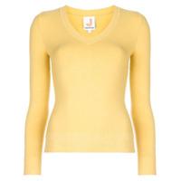 Joostricot Suéter De Tricô Decote Em V - Amarelo