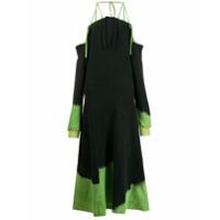 Ottolinger Vestido Assimétrico Com Efeito Manchado - Preto