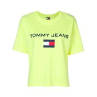 Tommy Jeans Camiseta Com Logo - Amarelo