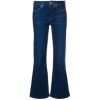 Mih Jeans Calça Jeans Flared Cropped - Azul
