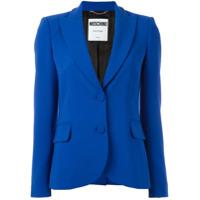 Moschino Blazer Abotoado - Azul