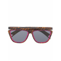Fendi Eyewear Óculos De Sol Tartaruga - Marrom