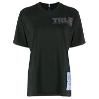 Mcq Camiseta Decote Careca True Freedom - Preto