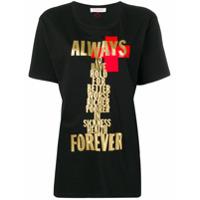 A.f.vandevorst Printed T-Shirt - Preto