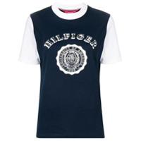 Hilfiger Collection Camiseta Com Logo - Azul