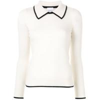 Madeleine Thompson Suéter Jumbo - Branco