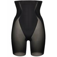 Spanx Short Cintura Média Haute Contour - Preto