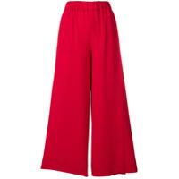 Incotex Calça Pantacourt - Vermelho