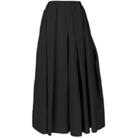 Sara Lanzi Calça Pantalona - Preto