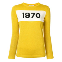 Bella Freud Suéter Com Estampa - Amarelo