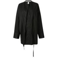 Boyarovskaya Camisa Oversized Com Botões - Preto