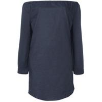 Rag & Bone /jean Vestido Ombro A Ombro - Azul