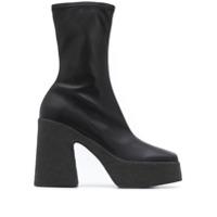 Stella Mccartney Ankle Boot Clássica - Preto