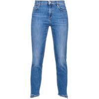 Pinko Calça Jeans Skinny Cintura Média - Azul