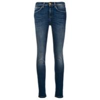 L'autre Chose Calça Jeans Skinny Cintura Média - Azul