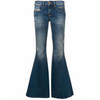 Diesel Calça Jeans Boca De Sino - Azul