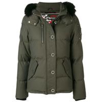 Moose Knuckles Hooded Padded Jacket - Verde