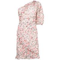 Isabel Marant Étoile Vestido Ombro A Ombro Com Estampa Floral - Branco