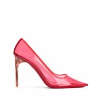 Givenchy Sapato Bico Fino Translúcido - Rosa