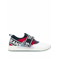Tommy Jeans Tênis Slip On Com Logo - Branco