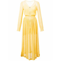 Jill Stuart Vestido Midi - Amarelo