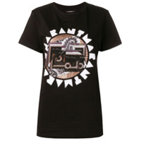 Isabel Marant Camiseta Com Logo - Preto