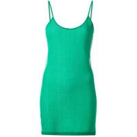 Nagnata Vestido Com Listras - Verde